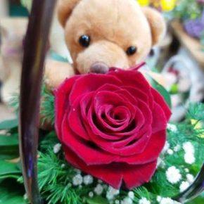 Aranžman 18 - ruža i meda