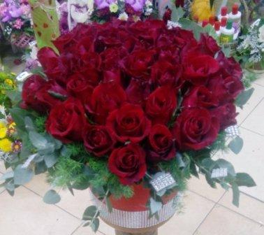 Aranžman 14 - boks ruže